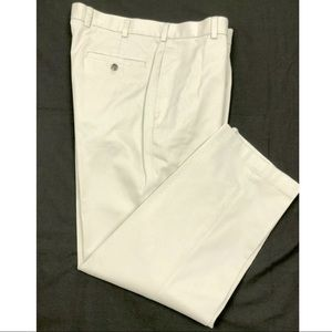 BROOKS BROTHERS Clark Flat Front Casual Chino